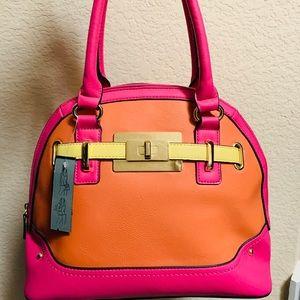 APT 9 pink & orange purse